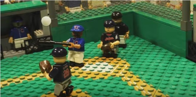 Lego version of Cubs World Series win is almost better than the real     Lego version of Cubs World Series win is almost better than the real thing   almost   RedEye Chicago