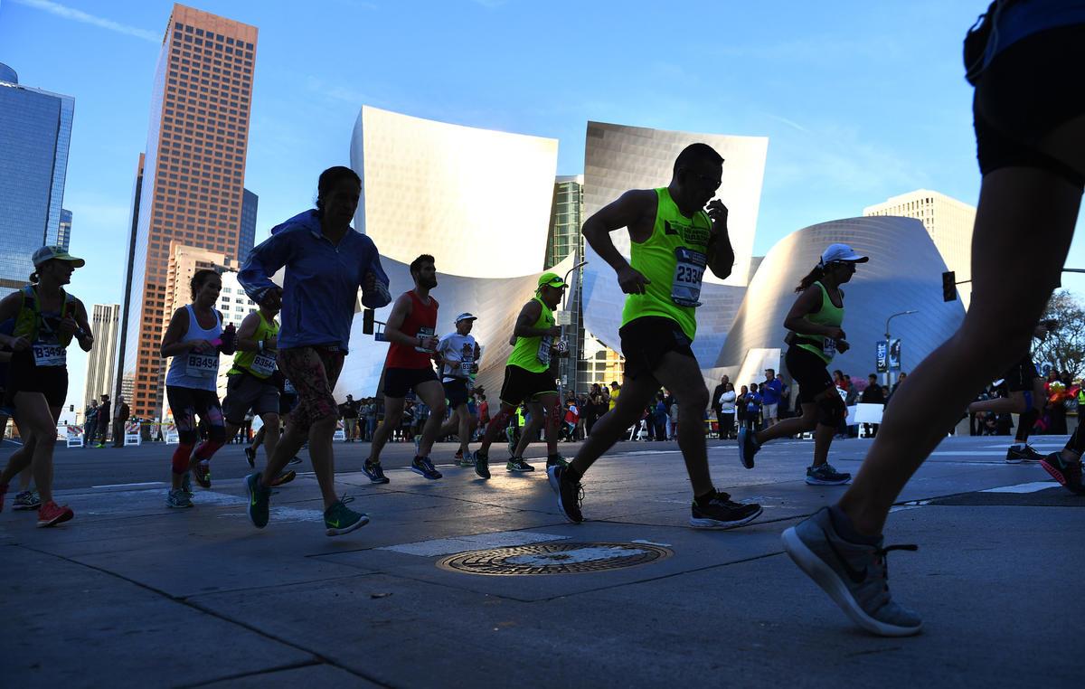 2017 LA Marathon Photos Los Angeles Times