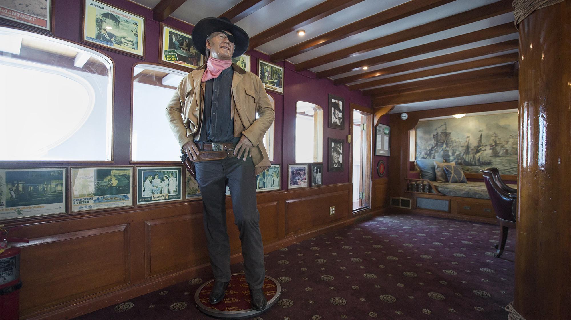 John Wayne Or At Least His Wax Figure Reunites With