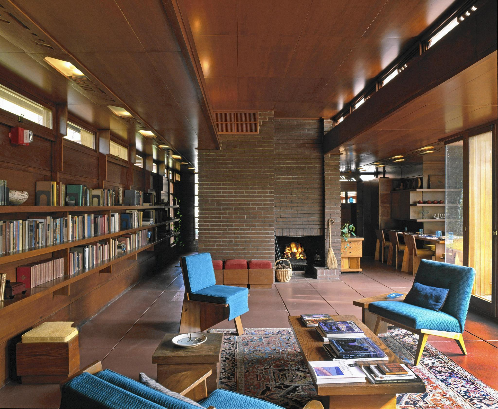 Outside In Frank Lloyd Wrights Influence On Interior Design Chicago Tribune