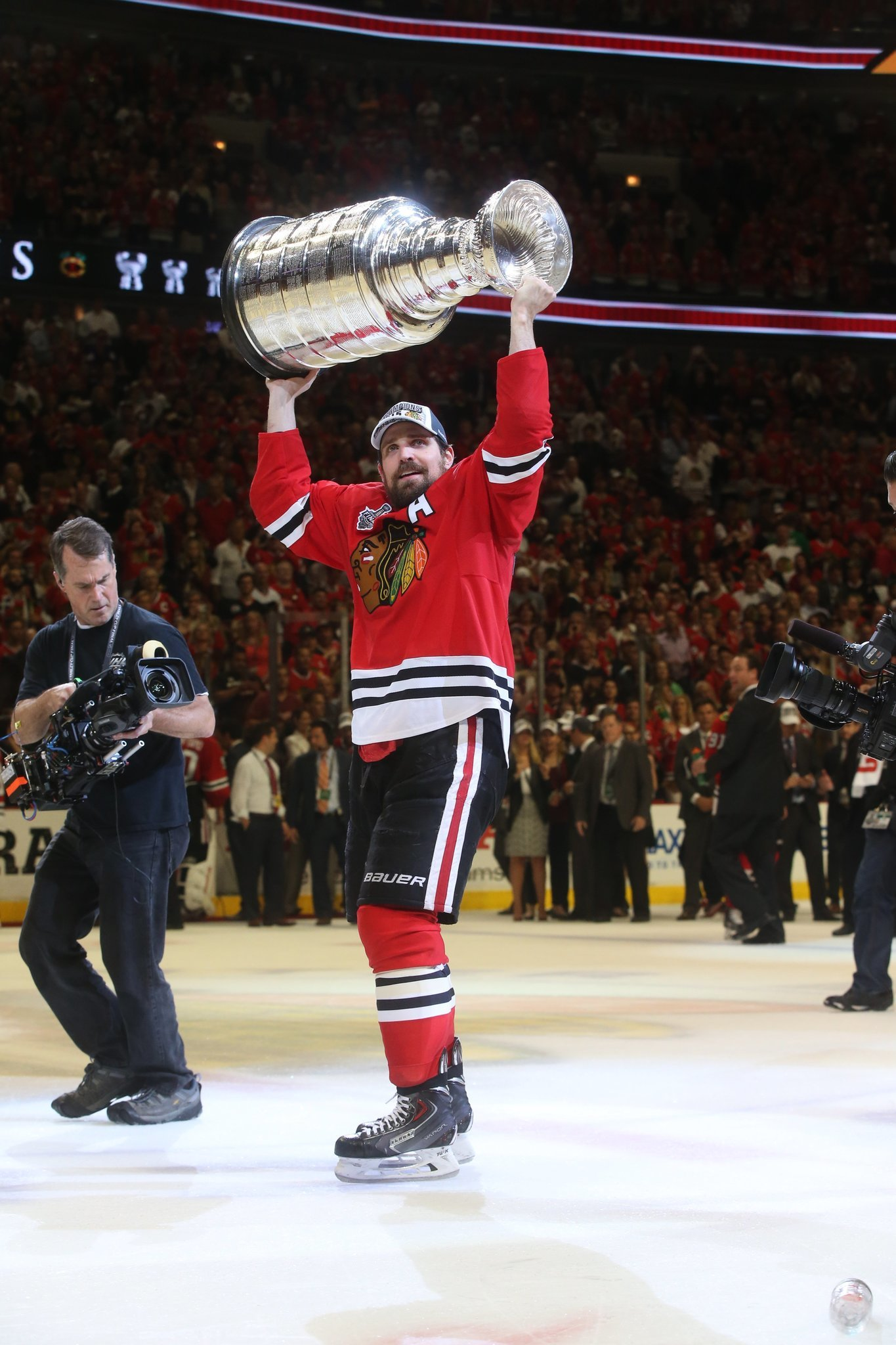 Patrick Sharp Puts Heart Over Bank Account In Re Signing