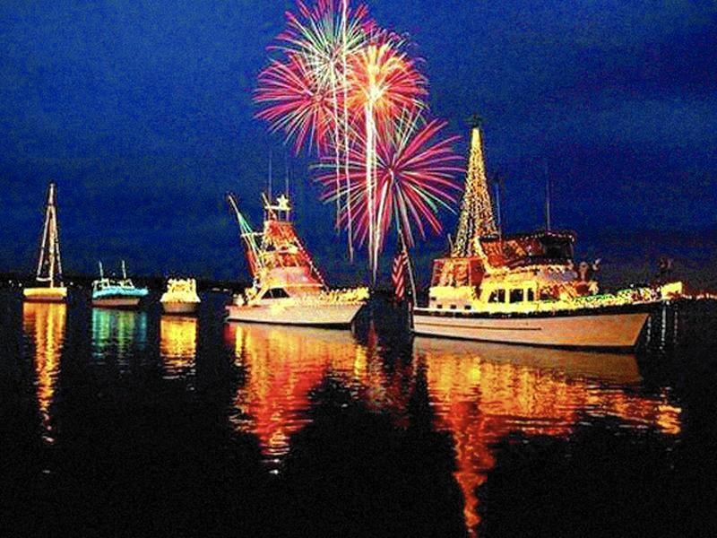 Venetian Night Back With Lit Boats Fireworks Lake County News Sun