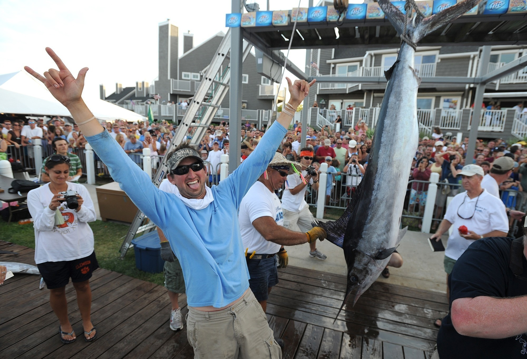 Maryland Man Lands 95 Pound Fish In White Marlin Open