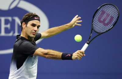Roger Federer looks back at best in straight-sets win over ...