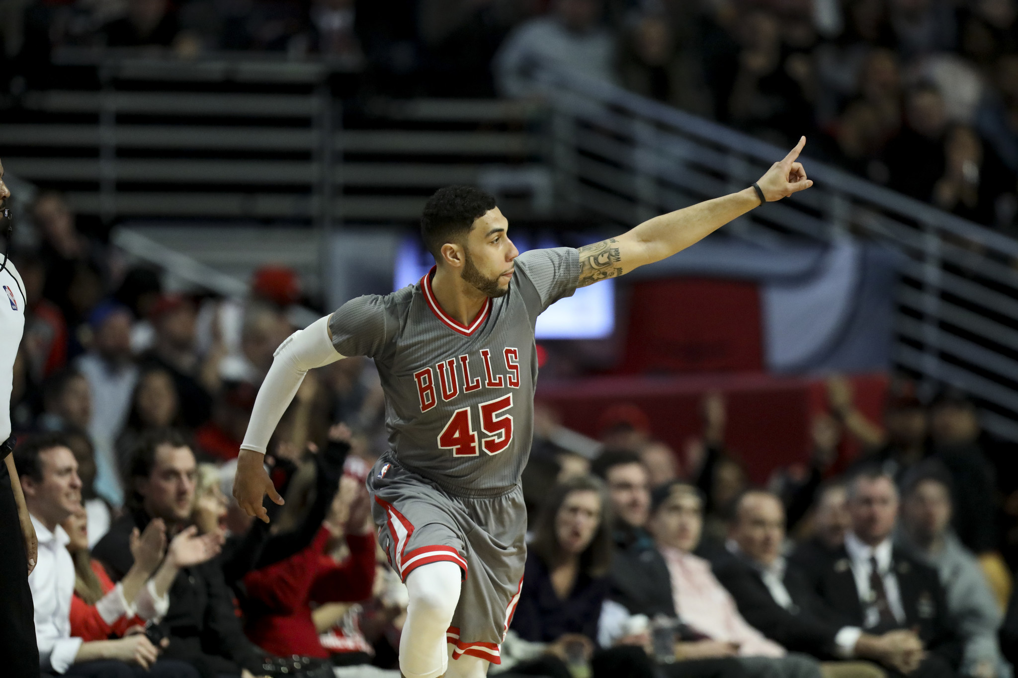 Denzel Valentine Vows Hes Ready At Both Ends Of Court For