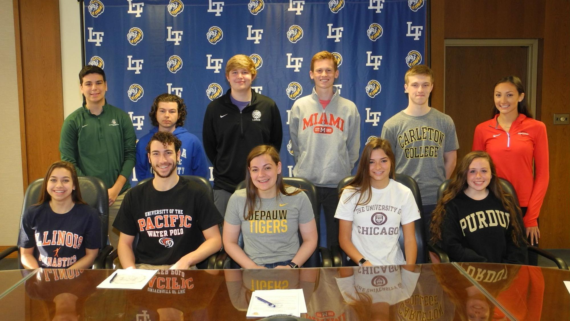 Local Athletes Participating In National Signing Day