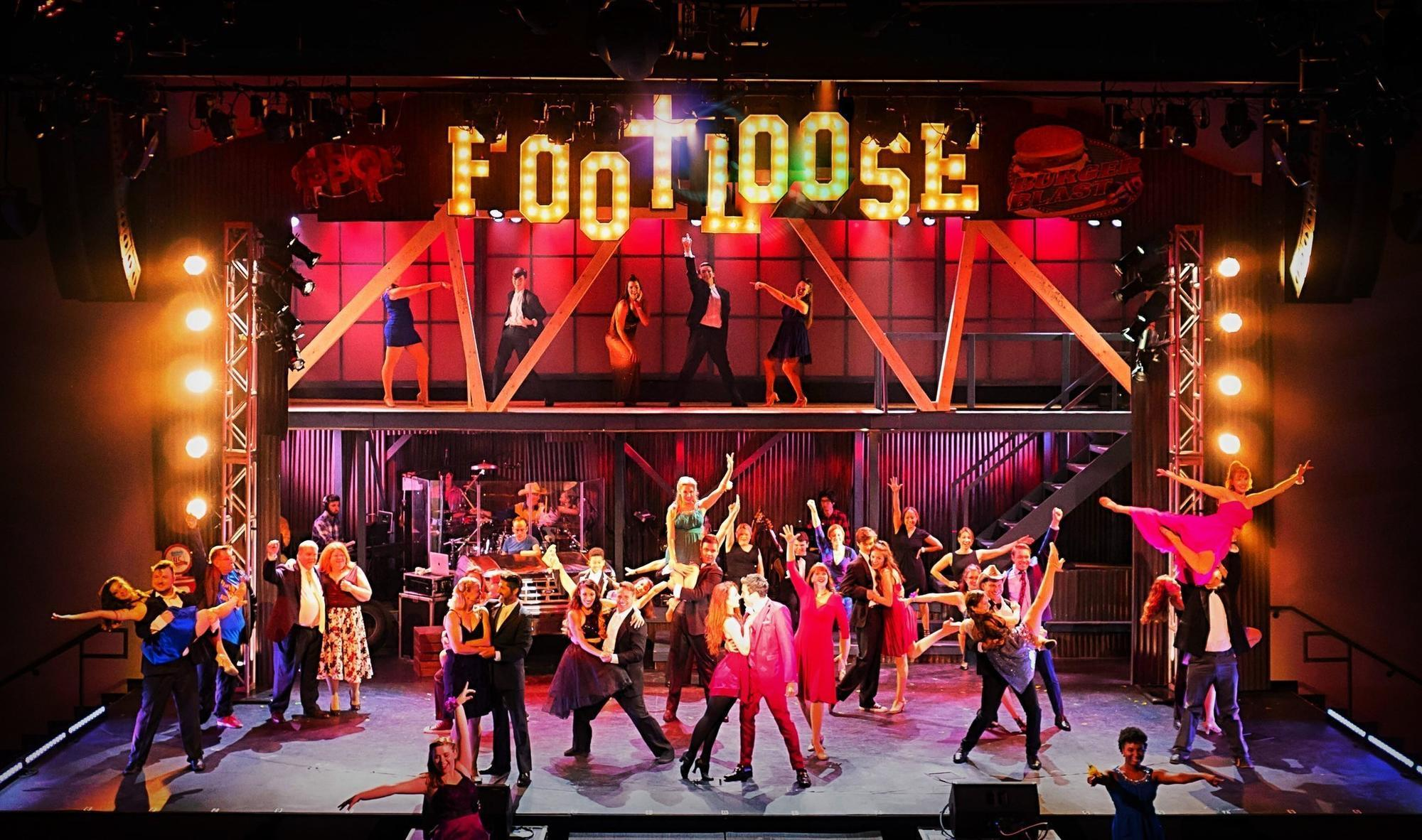 High Energy Footloose Doesn T Forget The Heart Orlando