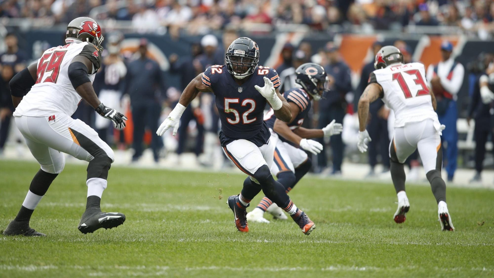 Dolphins Have A Plan But Know Bears Elite Pass Rusher