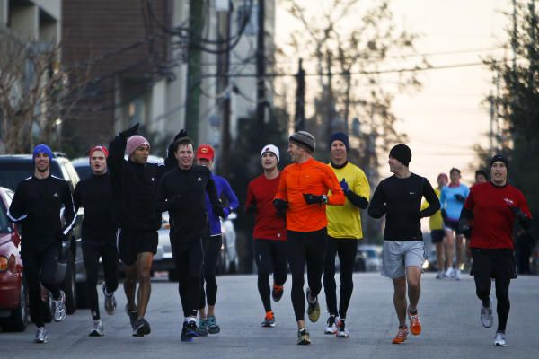 Trčanje dugih distanci u društvu