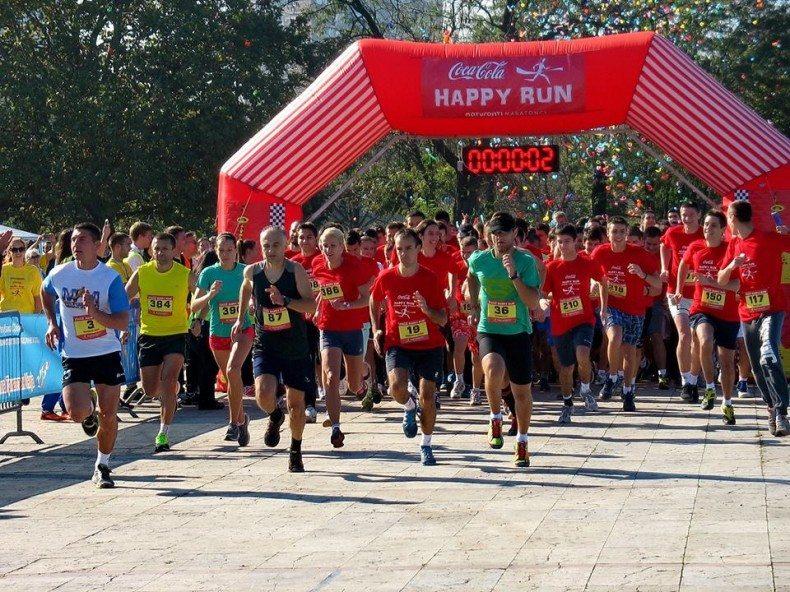 Coca-Cola Happy run start
