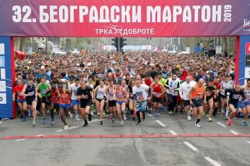 beogradski maraton start