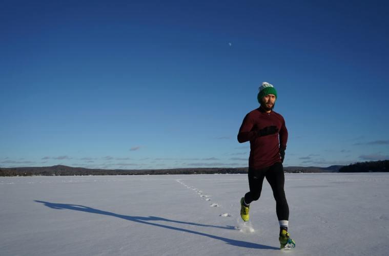 zima i trčanje