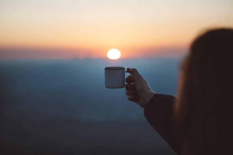jutarnja kafa i trčanje