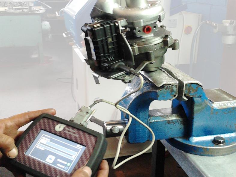 banco de pruebas de turbos 1