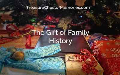 The Gift of Family History