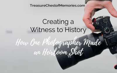 Creating a Witness to History: How One Photographer Made a Heirloom Shot