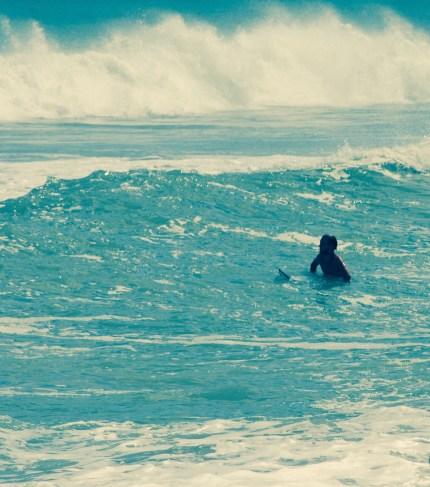 surfer at jensen beach