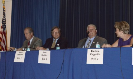 at the Martin County Commissioner Forum Debate April 2 2016