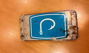 Cell phone shipped to Apple
