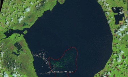 Satellite Images Reveal Another Significant Algae Bloom in Lake O, SLR/IRL
