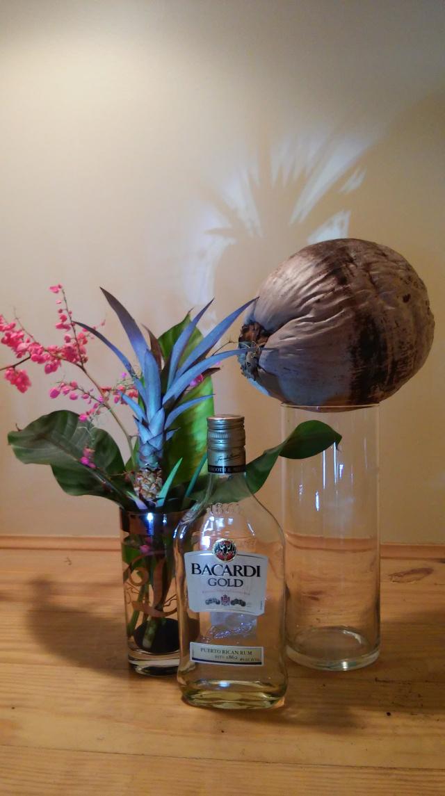 The Shrub Queen:In A Vase on Monday – Pina Coladas