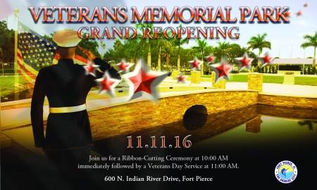 Save the Date: Ft Pierce reopens Veteran's Memorial Park