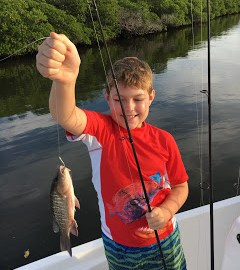 Captain Charlie's Fish Tales Charters: South Indian River Lagoon 10/16