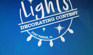 Fort Pierce City of Lights Contest is off to a Very Merry Start!