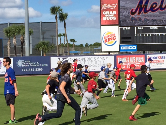 Youth Baseball Clinic Hosted By St. Lucie Mets