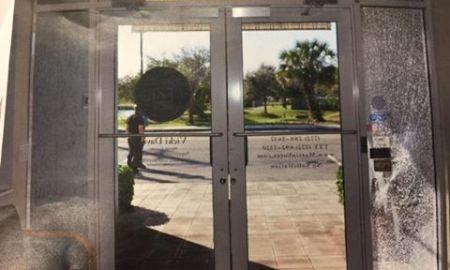 Vandals shoot multiple businesses