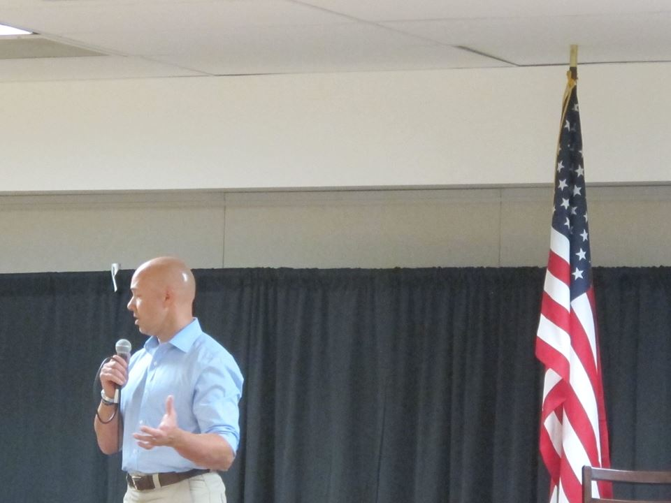 Brian Mast's First Town Hall photo: Marilyn Kane