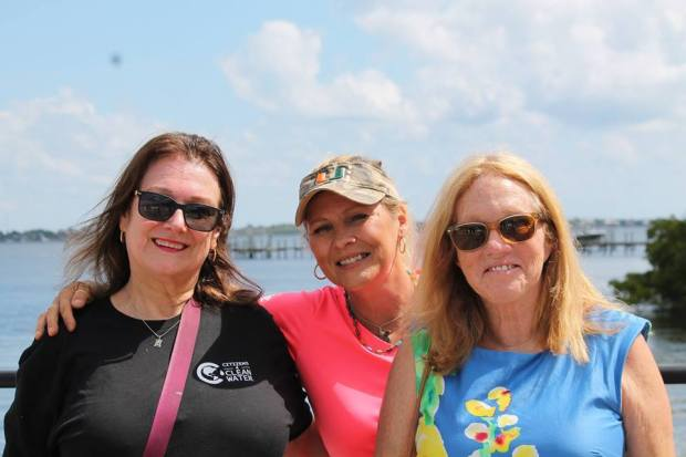River Warriors who never give up Marilyn Kane, Keri West, Irene Nethery Gomes
