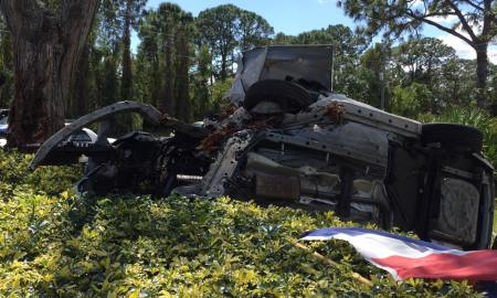 Force Pierce accident sends one man to hospital