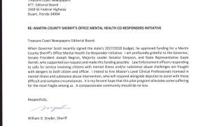 MC Sheriff Snyder announces mental health initiative