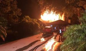 Fire destroys Grant-Valkaria home