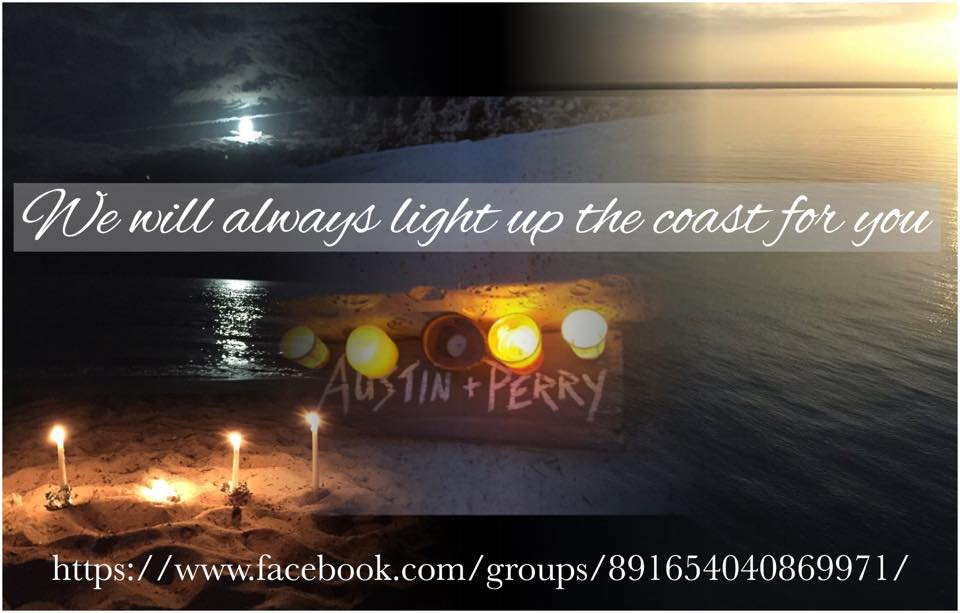 Light up the Coast for Austin and Perry on Monday