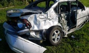 SLC rollover crash sends man to hospital