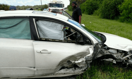 Crash in Indiantown closes Warfield at FPL