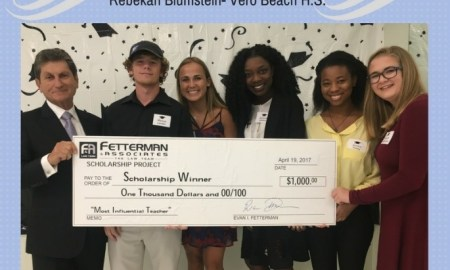 Win a $1000 Scholarship from Fetterman & Associates!