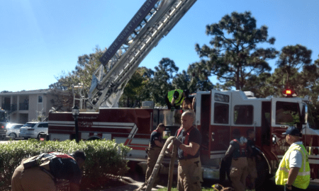 St Lucie fire responds to apartment fire on Pinewood Trail