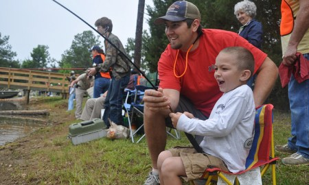Young anglers invited to participate in free kids fishing tournament on Saturday