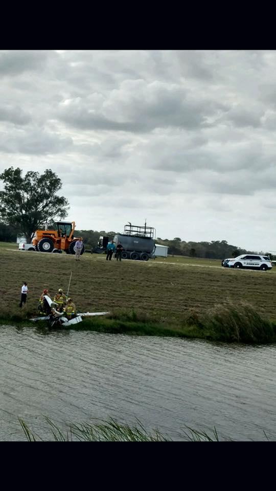 Man injured in Gyrocopter Crash in Indiantown