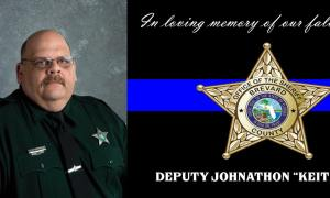 Brevard County Corrections Deputy killed in off-duty motorcycle accident.