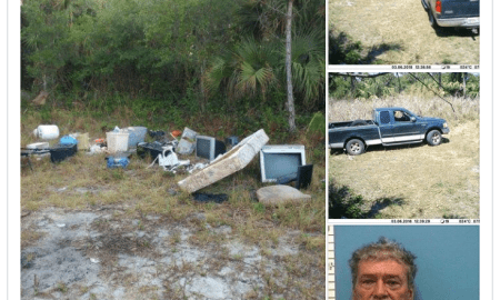Indiantown man dumps 600 pounds of garbage on federally owned land