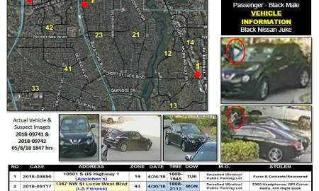PSLPD warns to remove valuables from cars