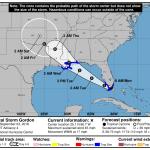 Tropical Storm Gordon forms near the Florida Keys