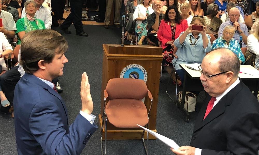 Stuart Commissioners Sworn In