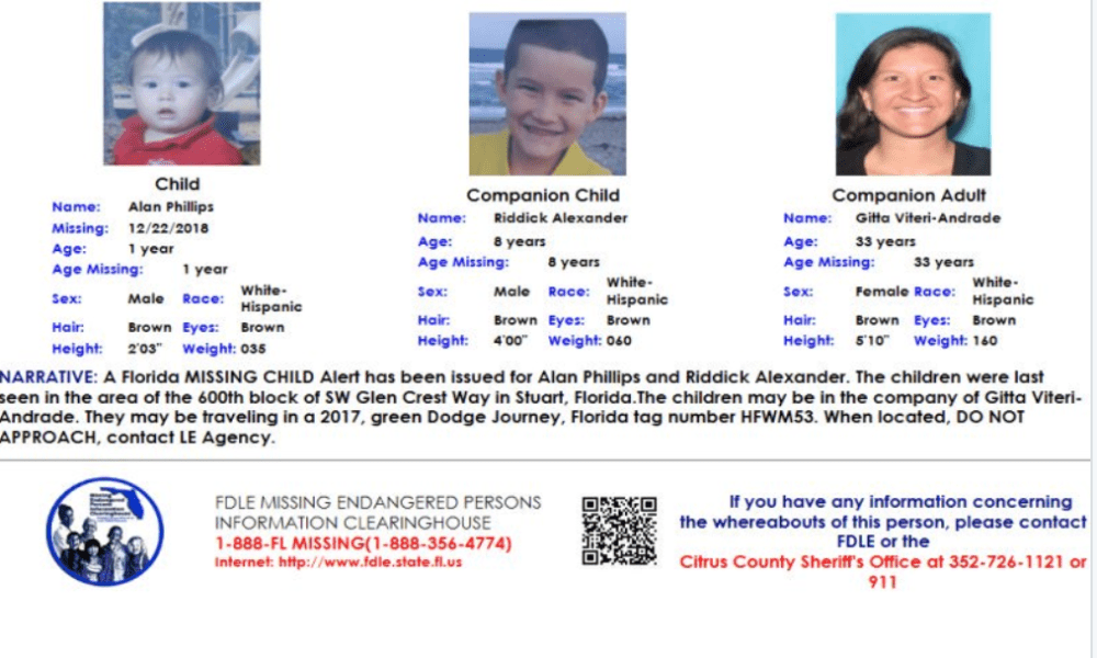 Missing Child Alert: Stuart Florida