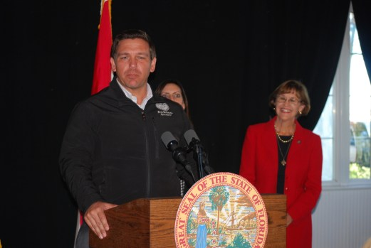 """Ron Desantis to us """"Buckle up!"""" and asks entire SFWMD board to resign"""