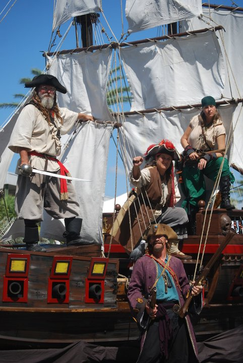 Celebrate the 10th Annual Treasure Coast Pirate Festival